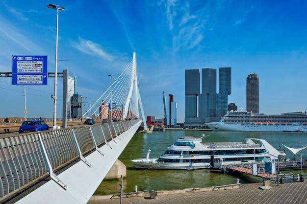 Rotterdamer stadtbild. niederlande