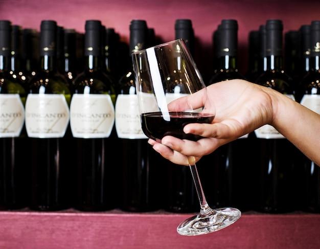 Rotweinprobe