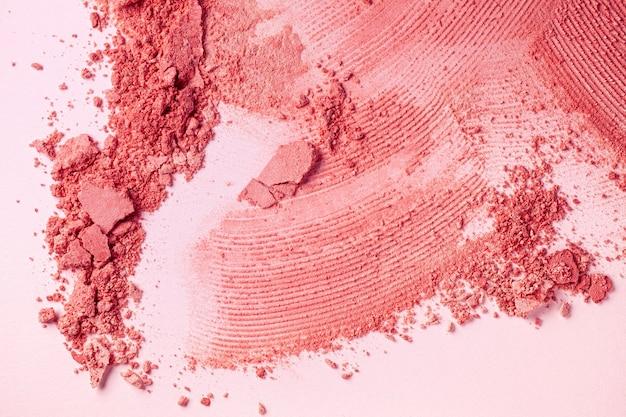 Rouge oder gepresster puder strukturierter hintergrund