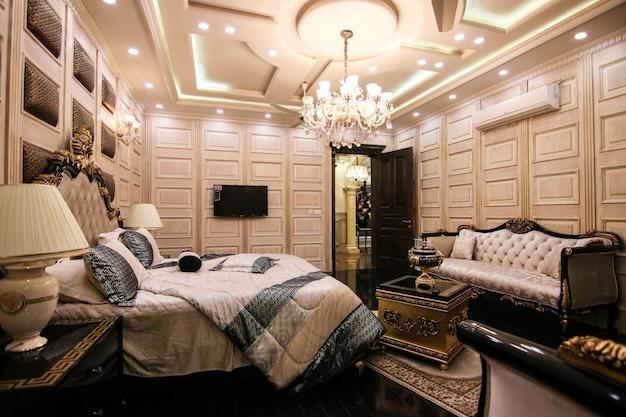 Royal luxury schlafzimmer black & white