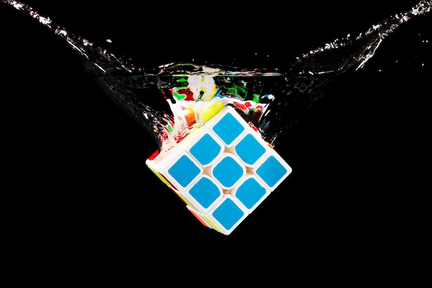 Rubik würfel versenkt