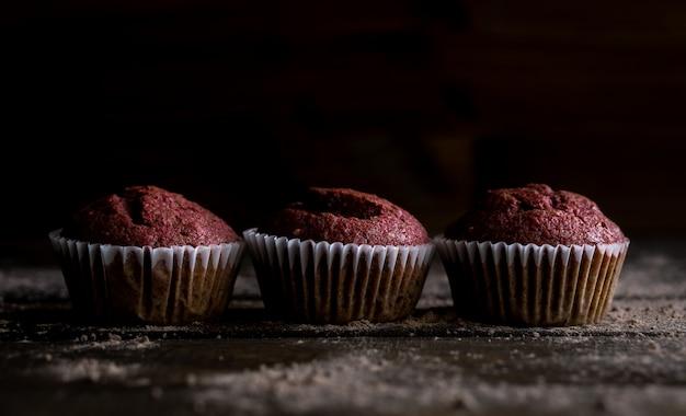 Rüben-nuss-muffins