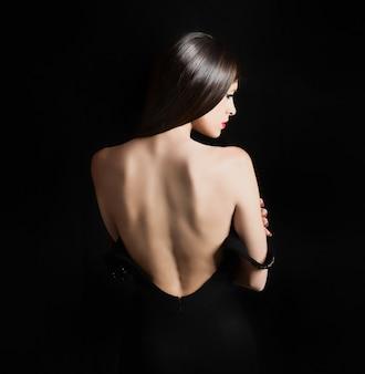 Rücken einer sexy frau
