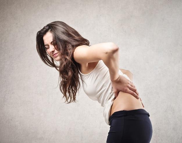 Rückenschmerzen haben