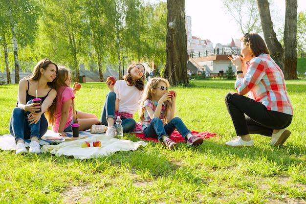 Ruhe im park.