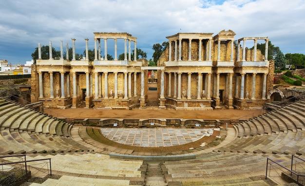 Ruine des antiken römischen theaters