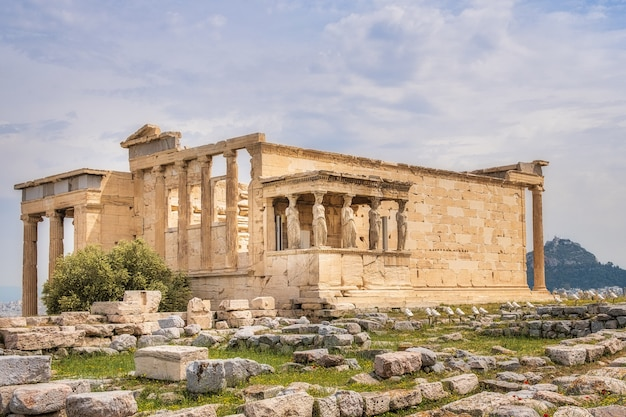 Ruinen auf der akropolis
