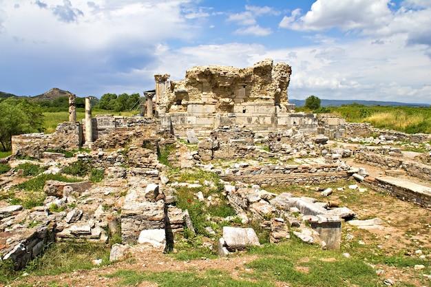 Ruinen der antiken stadt ephesus, türkei