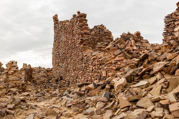 Ruinen der antiken stadt