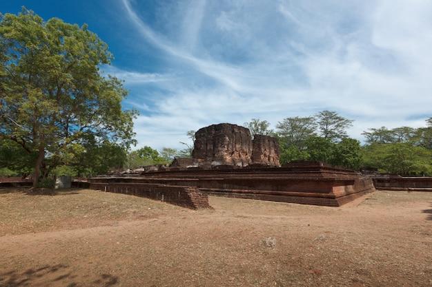 Ruinen des königspalastes