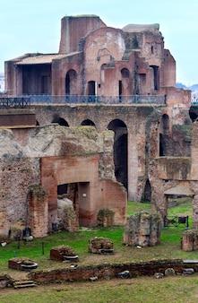 Ruinen des septimius-severus-palastes