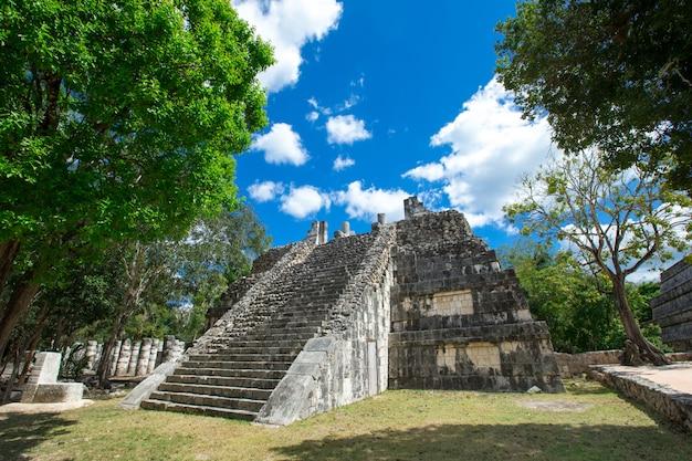 Ruinen von chichen itza, mexiko