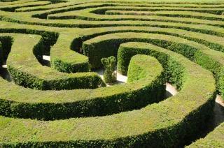 Runden labyrinth