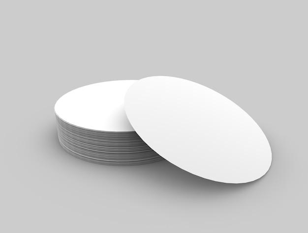 Rundes logo und label-modell