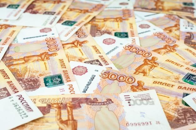 Russische geldbanknoten