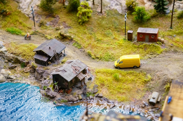 Russland in miniatur grand layout in st. petersburg