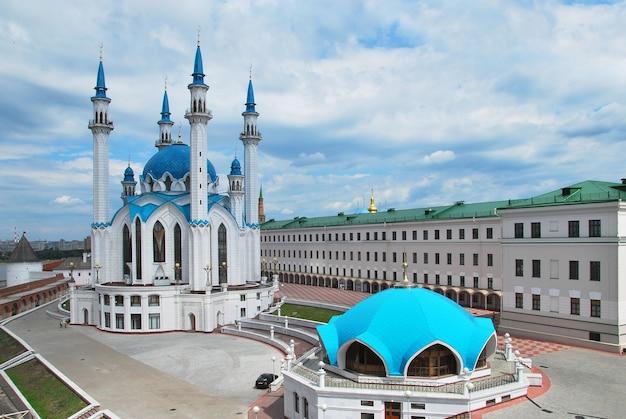 Russland. stadt kasan. die kul sharif moschee