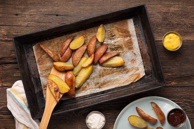 Rustikale ofenkartoffeln