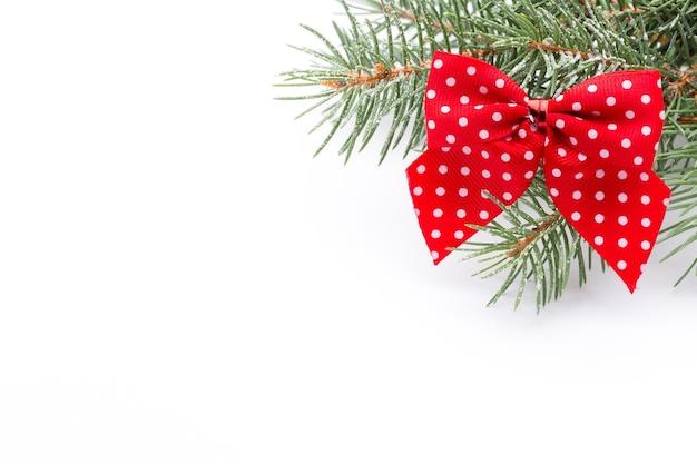 Rustikale weihnachtsdekorationen.