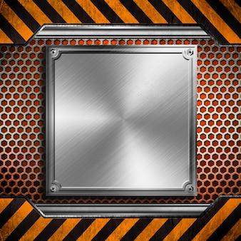 Rustikaler metallbeschaffenheitshintergrund