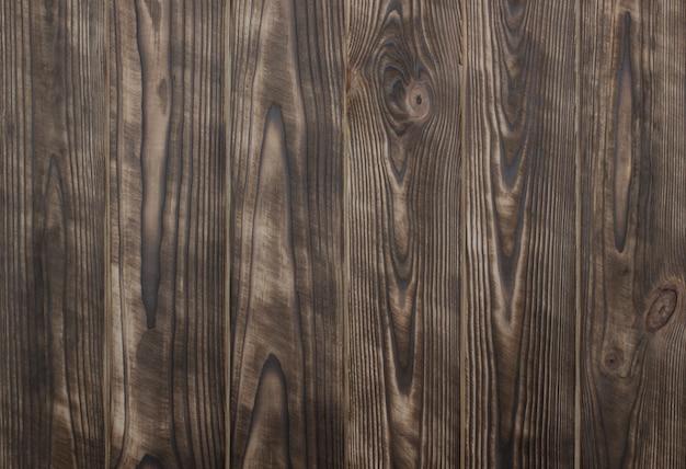 Rustikaler natürlicher hölzerner hintergrund browns mit gebürsteten planken
