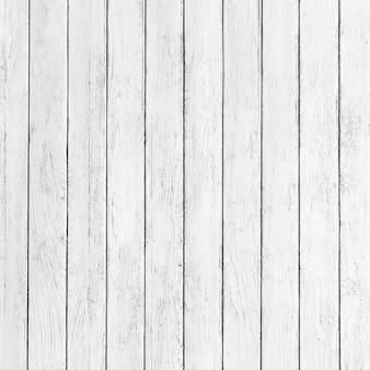 Rustikales weißes holz textur hintergrunddesign