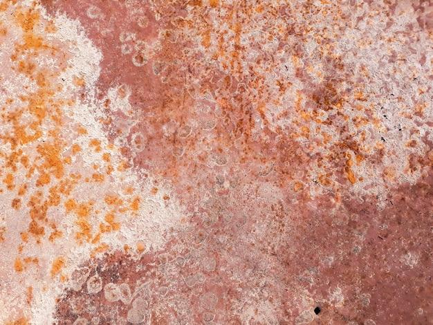 Rusty metall beunruhigte hintergrund.