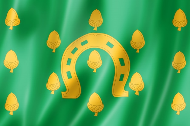 Rutland county flagge, großbritannien