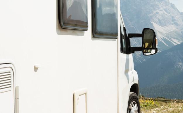 Rv camper scenic camping