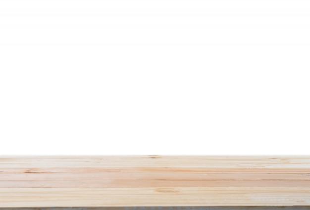 S of work: holzbretter für ausstellungen auf weißem hintergrund