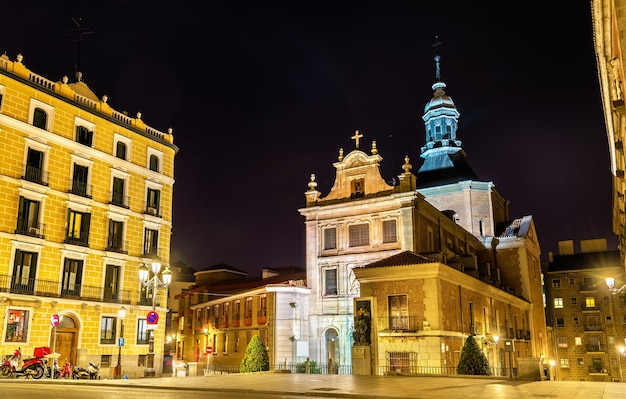 Sacramento kirche in madrid spanien