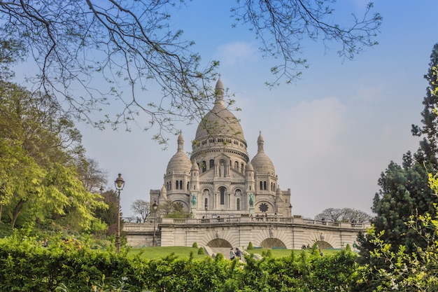 Sacre coeur, paris, frankreich