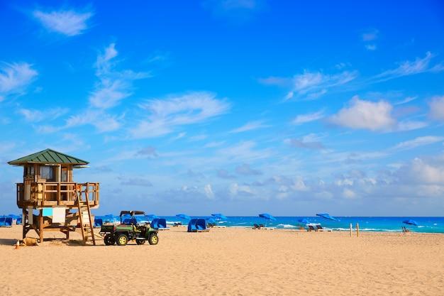 Sänger-inselstrand am palm beach florida us