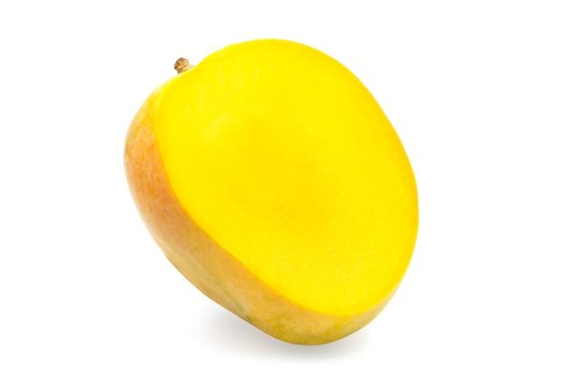 Saftig geschnittene mango