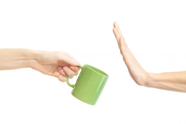 Sag keine grüne tasse