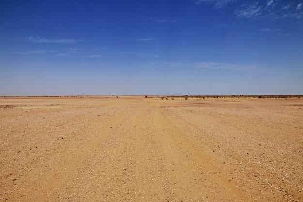 Sahara wüste im sudan
