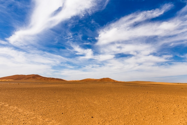 Sahara-wüste, marokko