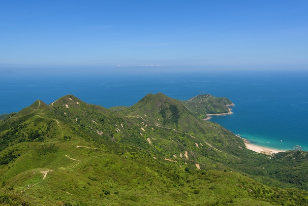 Sai kung east country park in hongkong