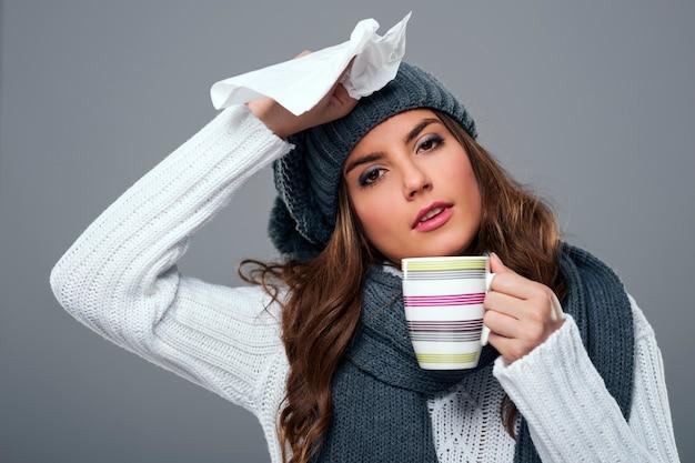 Saison für erkältung und grippe