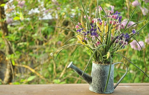 Saison sommer hintergrund der bewässerung garten abstrakten hintergrund