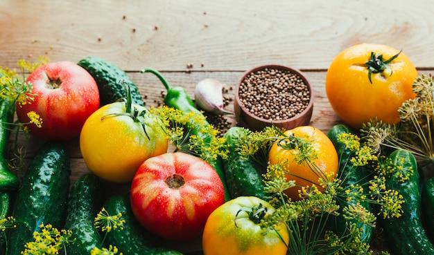 Saisonales gemüse ernten