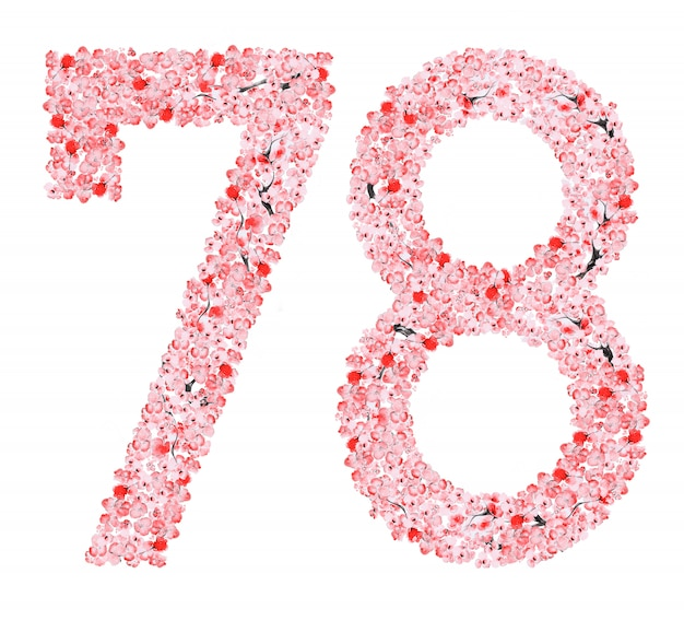 Sakura flower nummer 7 8