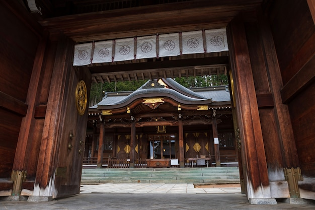 Sakurayama hachimangu-schrein in takayama