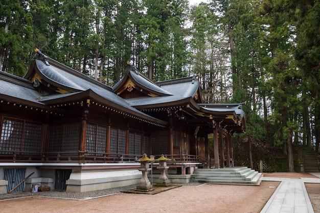 Sakurayama hachimangu schrein in takayama
