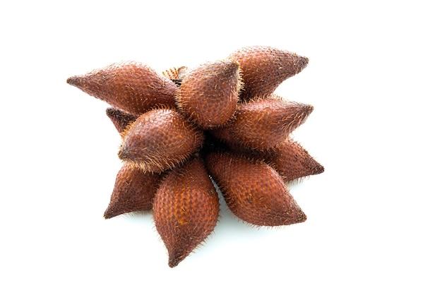 Salacca oder zalacca tropische frucht