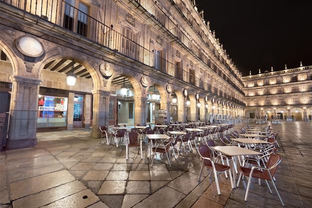 Salamanca berühmten wahrzeichen plaza bürgermeister