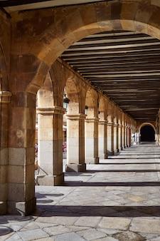 Salamanca plaza bürgermeister in spanien