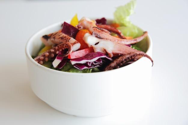 Salat in nahaufnahme