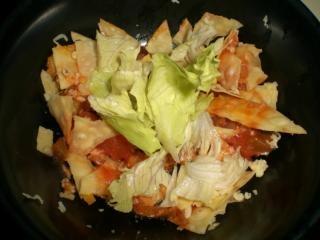 Salatschüssel, grieß