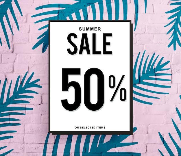 Sale discount shopping shopaholics promotion-konzept